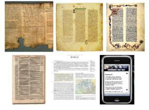 The word of God on different means presented to man throughout the ages - Het Woord van God doorgegeven op verschillende wijzes vermenigvuldigt door de eeuwen heen
