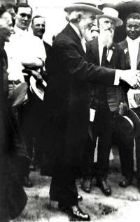 Bible Students Founder C.T. Russell Shaking Hands