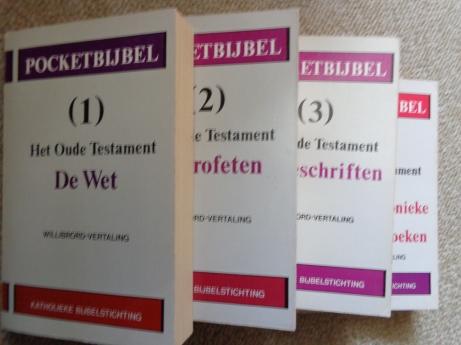 Gods Woord in het Nederlands omgezet door de Nederlandse en Vlaamse Bijbelstichting, Willibrord Vertaling KBS 1972-1981