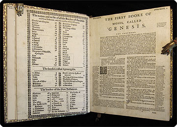 Geneva – Tomson Junius 1599 Bible translation