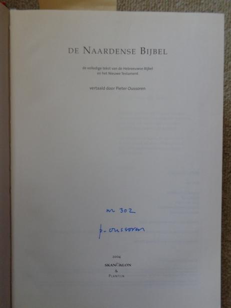 1ste uitgave van de Naardense Bijbel