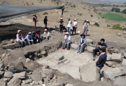 The Tel Rechesh excavation site. Credit: The Japanese archaeological delegation