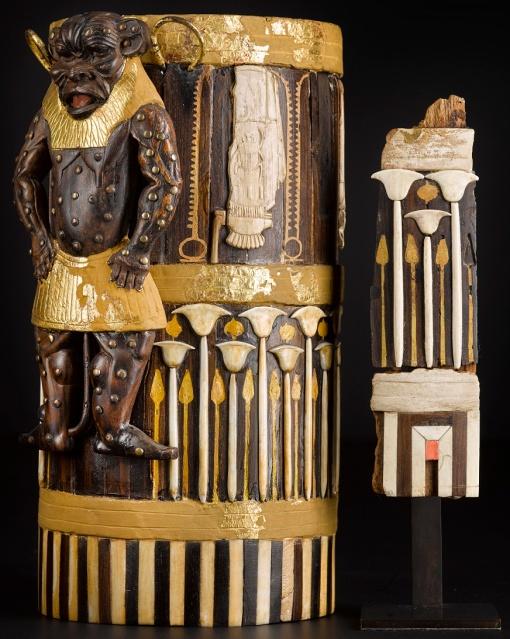 Amenhotep II box fragments found